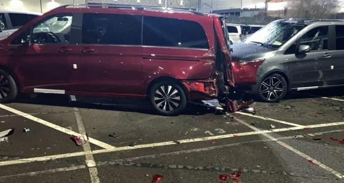 Уволенный работник завода Mercedes-Benz разбил 69 машин и нанес ущерб на миллионы евро 5