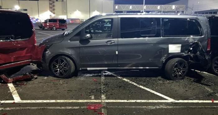 Уволенный работник завода Mercedes-Benz разбил 69 машин и нанес ущерб на миллионы евро 4