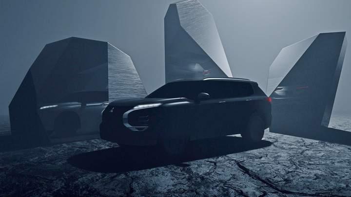 Mitsubishi Outlander 2022: опубликованы первые официальные фото новинки 1