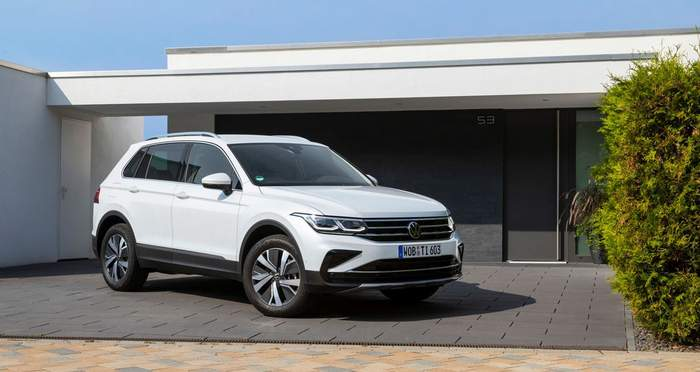 В продажу поступил Volkswagen Tiguan eHybrid  1