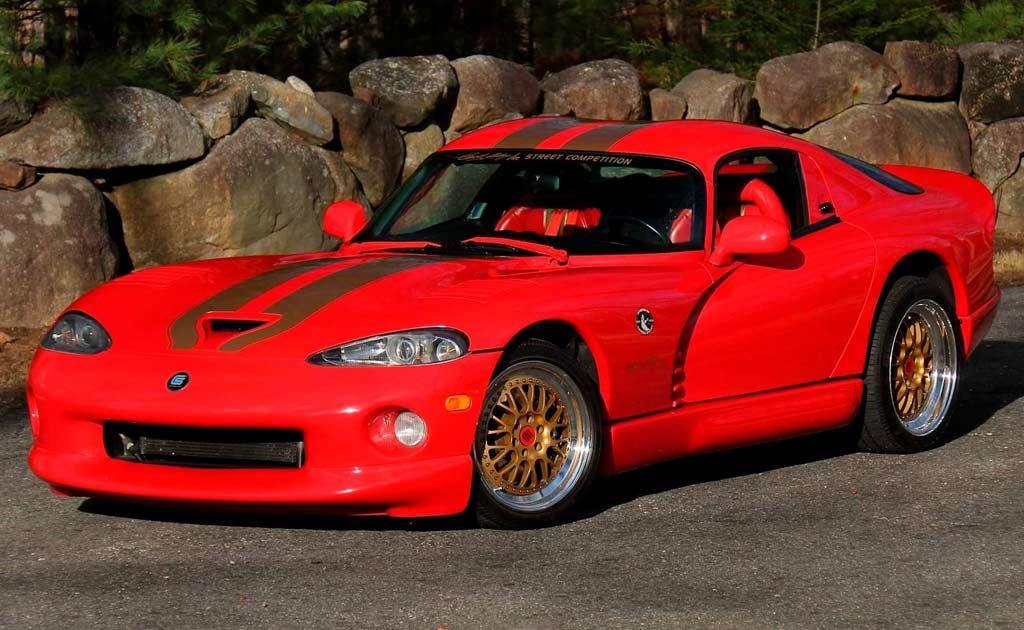 Единственный в мире Dodge Viper GTS CS выставили на продажу 1