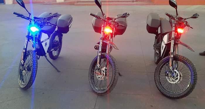 Мексиканская полиция ездит на украинских электробайках (фото) 2