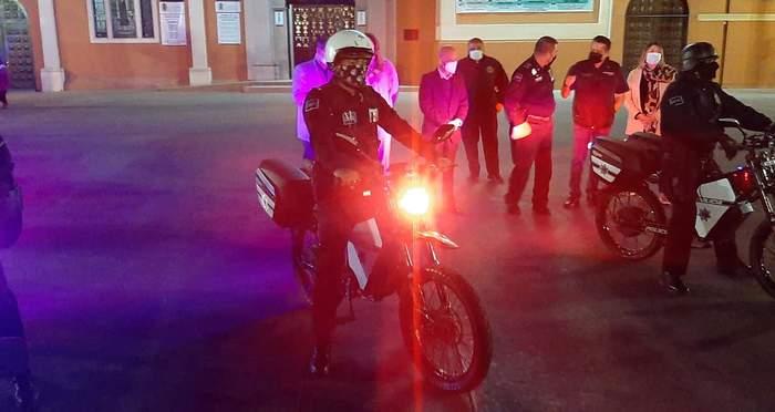 Мексиканская полиция ездит на украинских электробайках (фото) 4
