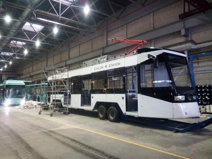 «Эталон» начал производство трамваев: показали сборку первого экземпляра 1