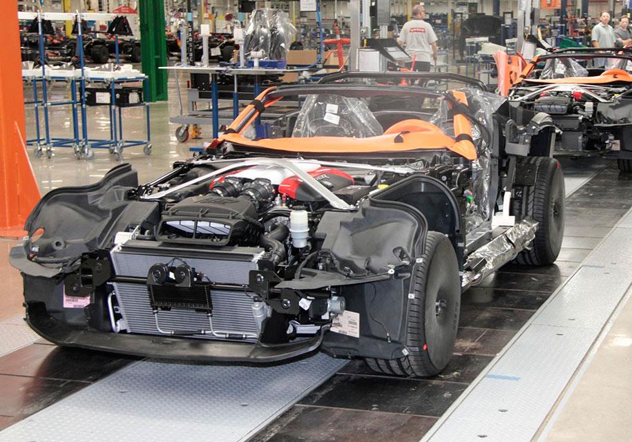 Завод, где выпускали Dodge Viper, превратится в склад 1