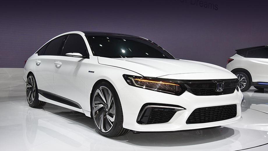 Концепт Honda Inspire оказался «перекроенным» Аккордом 1