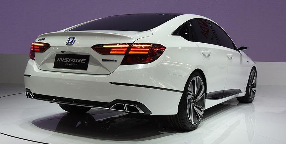 Концепт Honda Inspire оказался «перекроенным» Аккордом 2