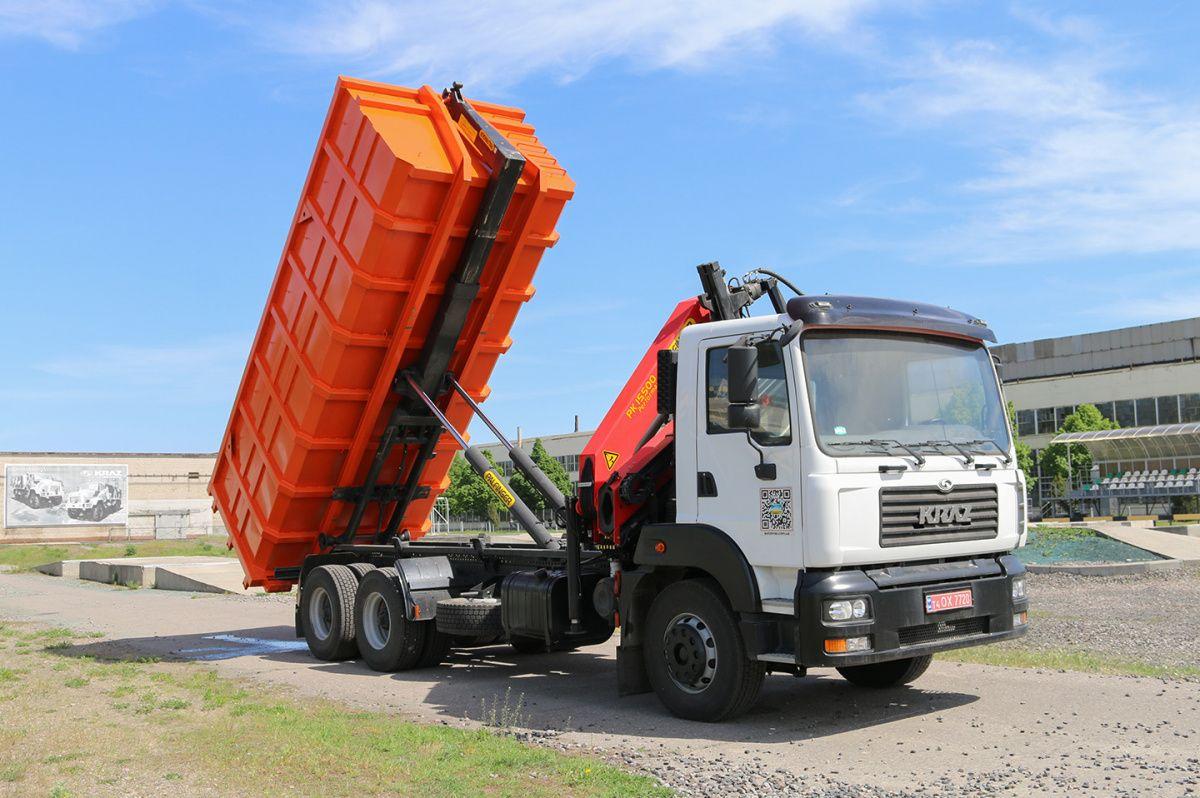 КрАЗ представил новый мусоровоз 2