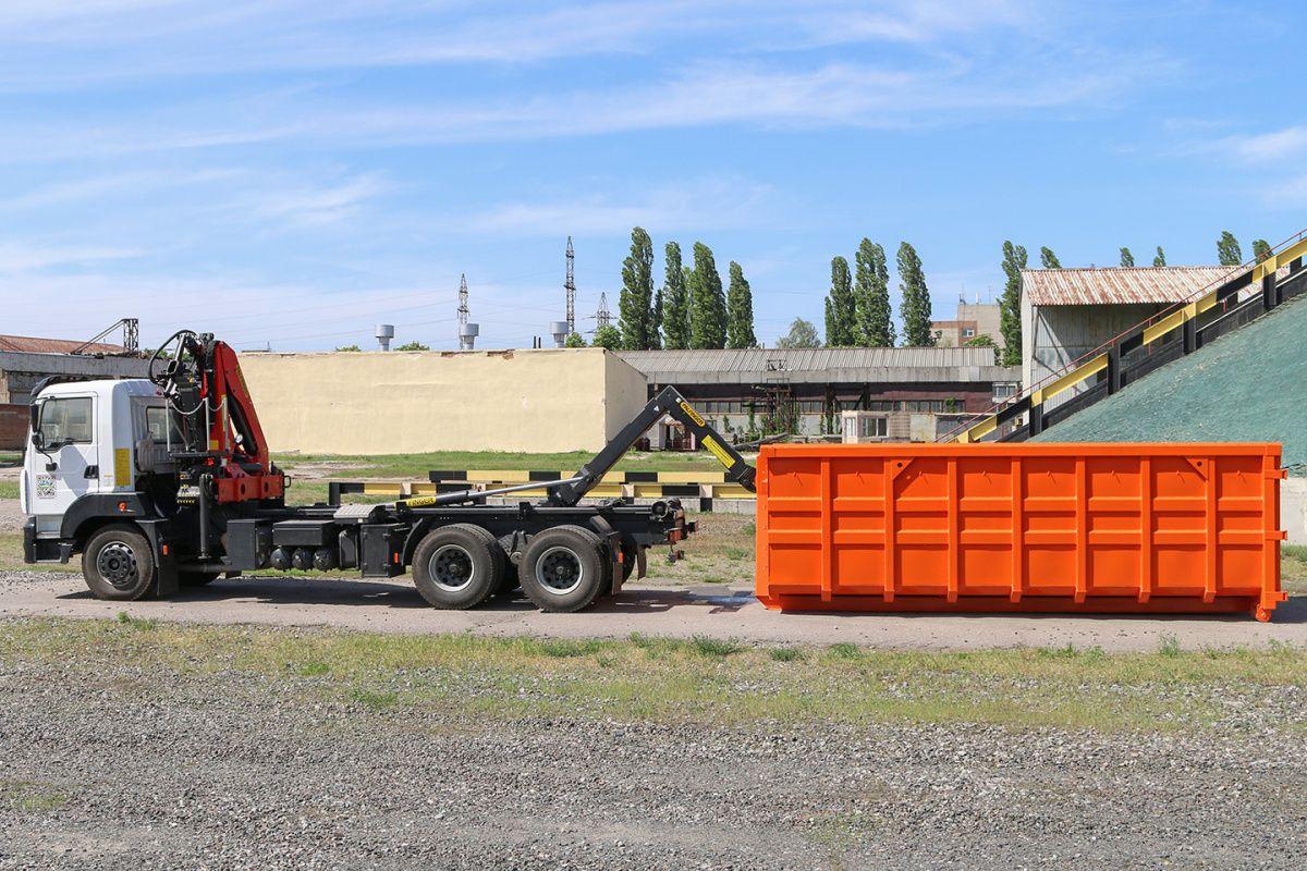 КрАЗ представил новый мусоровоз 3