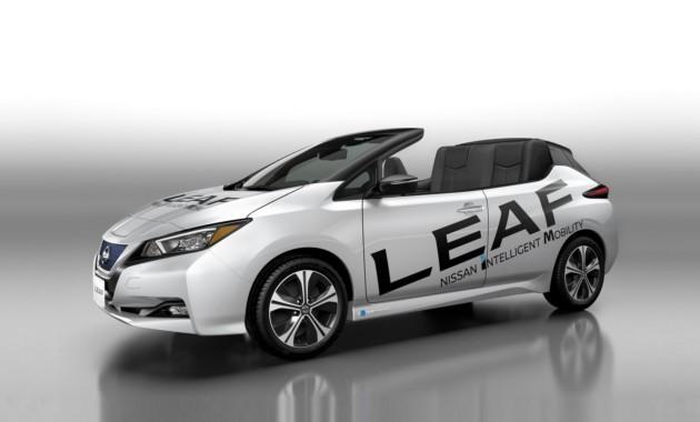 У Nissan Leaf «уехала» крыша 1