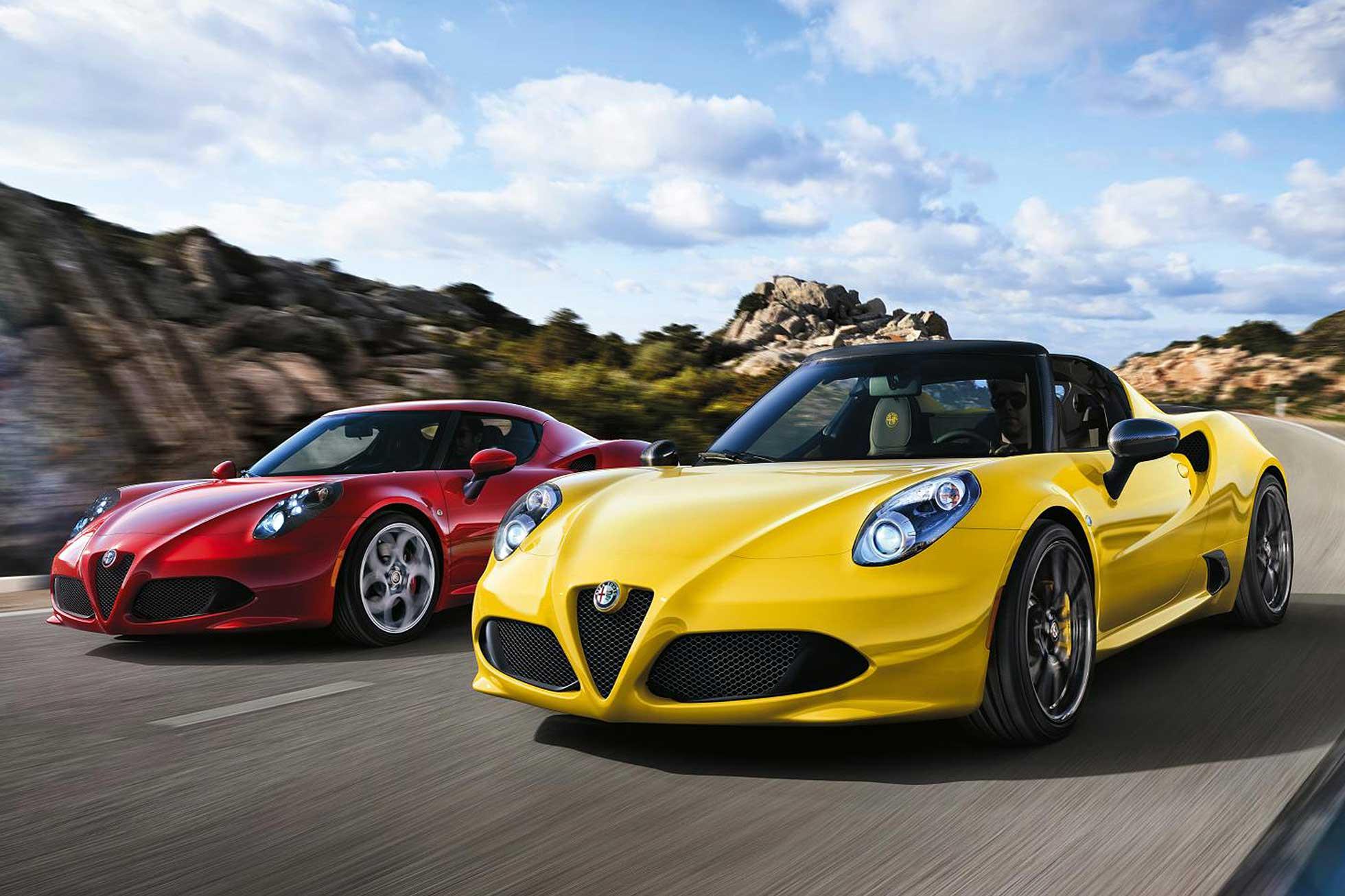 Alfa Romeo 4C Coupe уйдет «на пенсию» 2