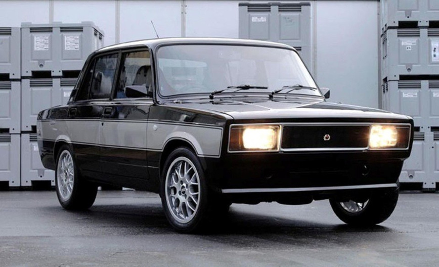 Какой была Lada Lotus, построенная в шоу Top Gear 1