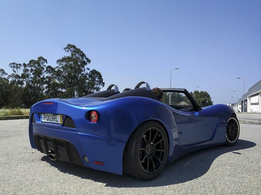 Португальцы построили гоночный спорткар с двигателем от Ford 3