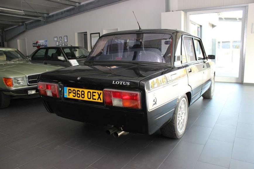 Какой была Lada Lotus, построенная в шоу Top Gear 3