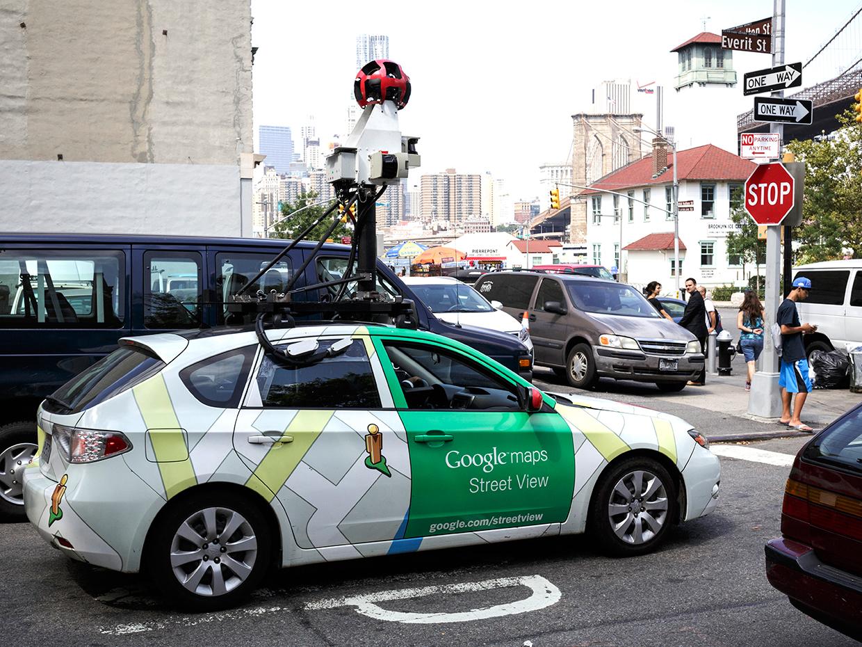 «Гугловские» автомобили будут следить за чистотой воздуха 1