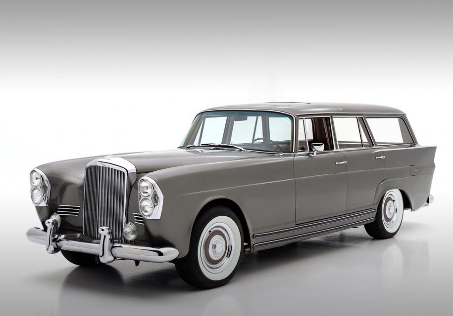 На продажу выставили универсал Bentley c кузовом Mercedes-Benz 1