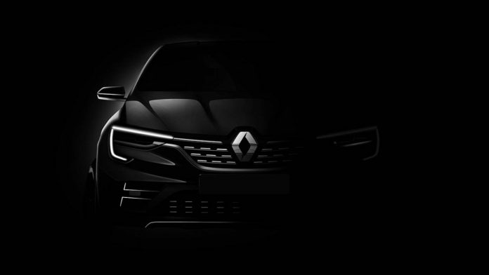 Renault представит новый кроссовер 1