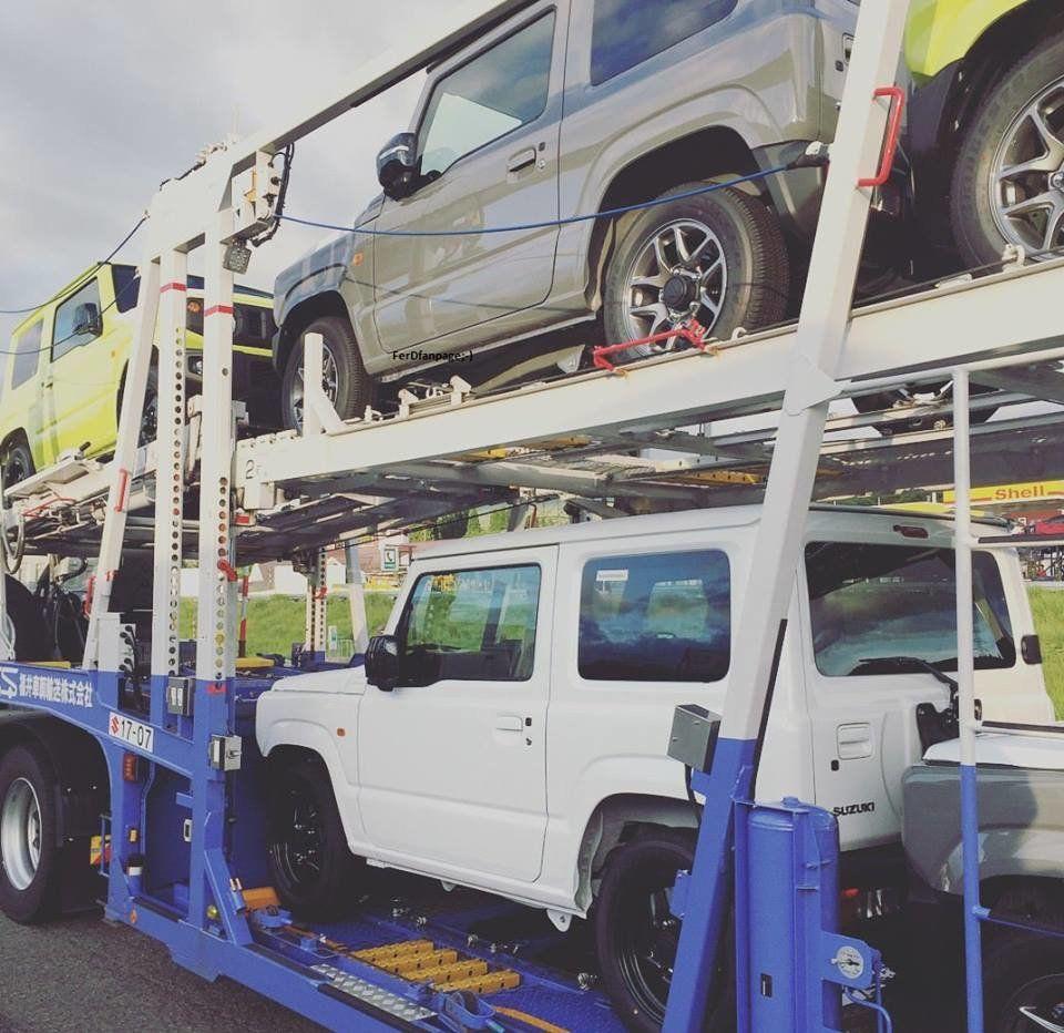 Новый Suzuki Jimny начал прибывать к дилерам до премьеры 2