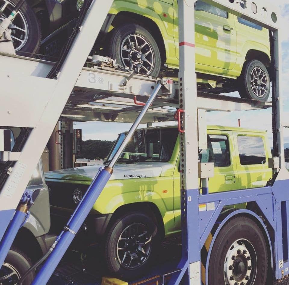 Новый Suzuki Jimny начал прибывать к дилерам до премьеры 1