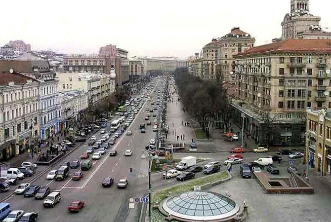 Въезд в центр Киева хотят сделать платным 1