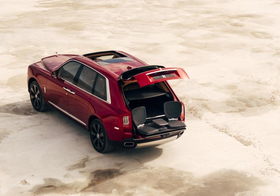 Cullinan будет единственным внедорожником в модельном ряду Rolls-Royce 1