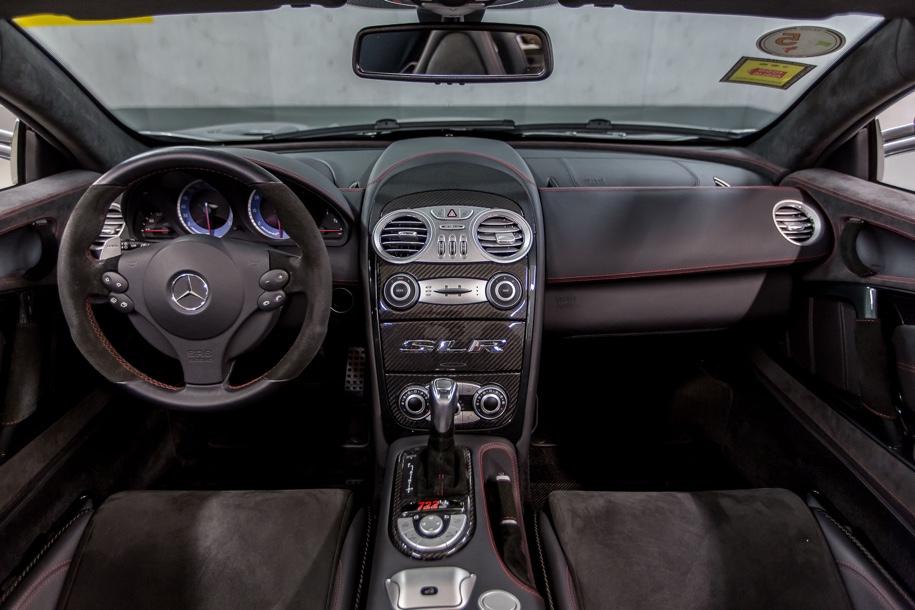 Mercedes-Benz выставил на торги музейный суперкар SLR McLaren 4
