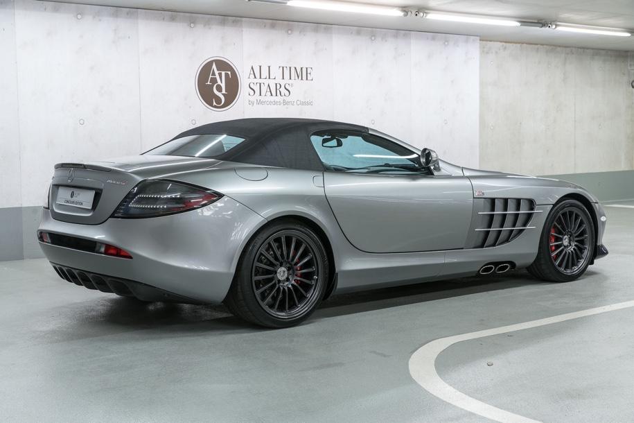 Mercedes-Benz выставил на торги музейный суперкар SLR McLaren 3