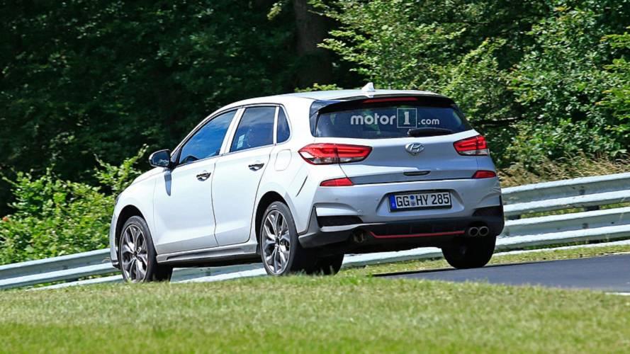 Новый Hyundai i30 N-Line проходит тест на трассе Нюрбургринга 2