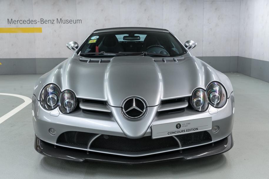 Mercedes-Benz выставил на торги музейный суперкар SLR McLaren 1
