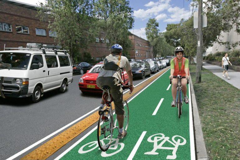 Обустройство велосипедных дорожек в Украины будет обязательным 1
