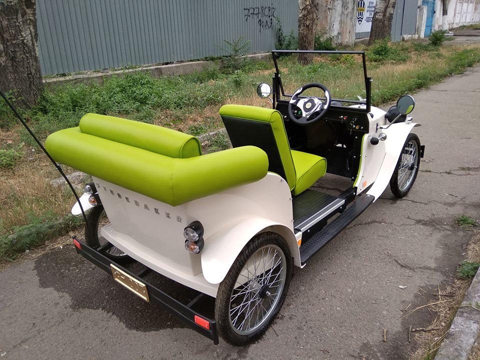 Одессит превратил легендарный автомобиль из «Золотого теленка» в электромобиль 3