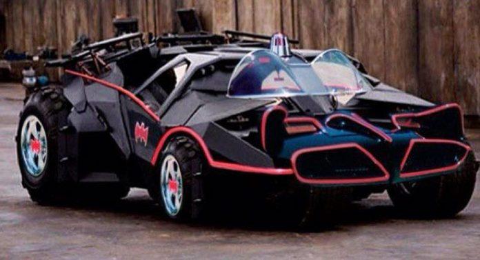 В Сети показали новый автомобиль для Бэтмена 1