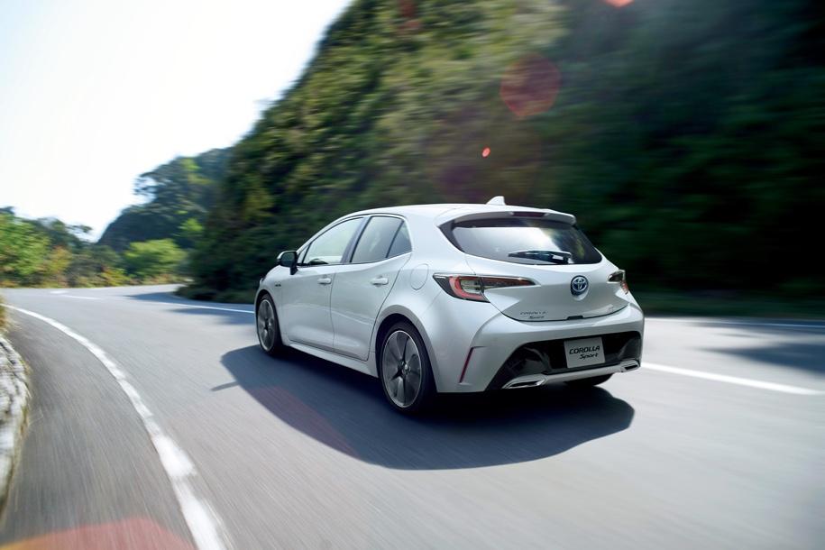 Toyota Corolla получила полный привод 1