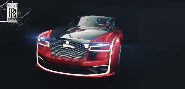 Аргентинский дизайнер представил как будет выглядеть Rolls-Royce будущего 1
