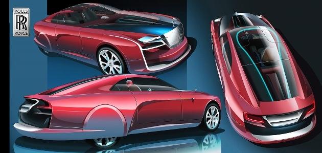 Аргентинский дизайнер представил как будет выглядеть Rolls-Royce будущего 2