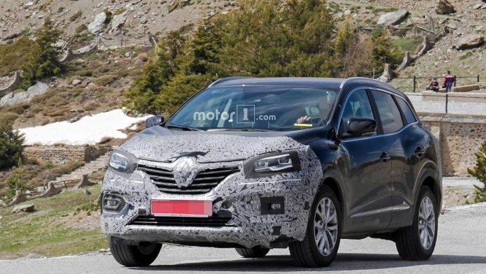 Фотошпионы заметили обновленный Renault Kadjar 1