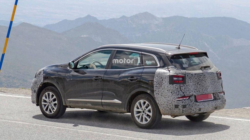 Фотошпионы заметили обновленный Renault Kadjar 2