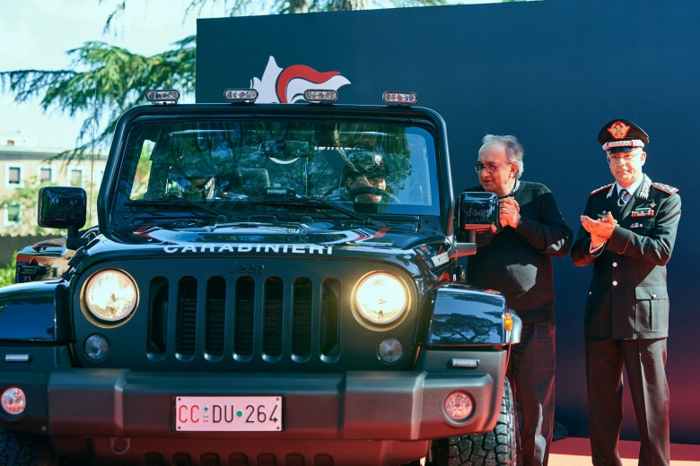 Итальянские карабинеры обзавелись Jeep Wrangler 1
