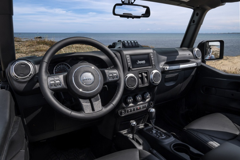 Итальянские карабинеры обзавелись Jeep Wrangler 3