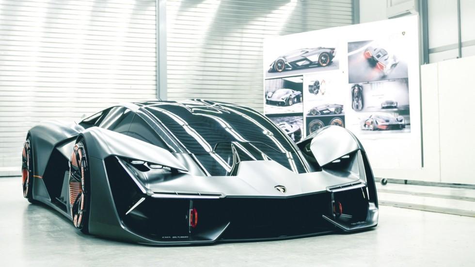 Компания Lamborghini показала новый суперкар 1