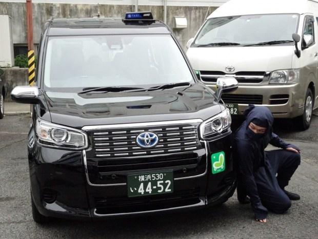 В Японии придумали услугу для такси «ниндзя-водитель» 2