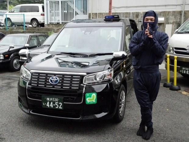 В Японии придумали услугу для такси «ниндзя-водитель» 1