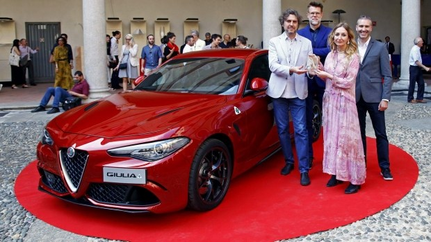 Alfa Romeo Guilia получила престижную дизайнерскую награду 1
