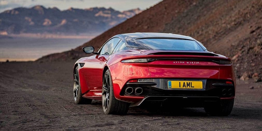 Aston Martin официально презентовал новый спорткар DBS Superleggera 3