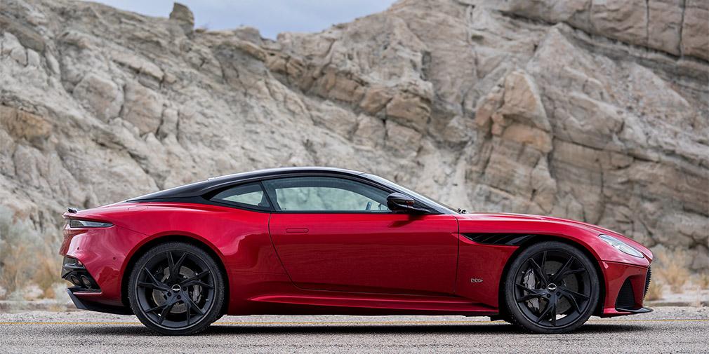 Aston Martin официально презентовал новый спорткар DBS Superleggera 2