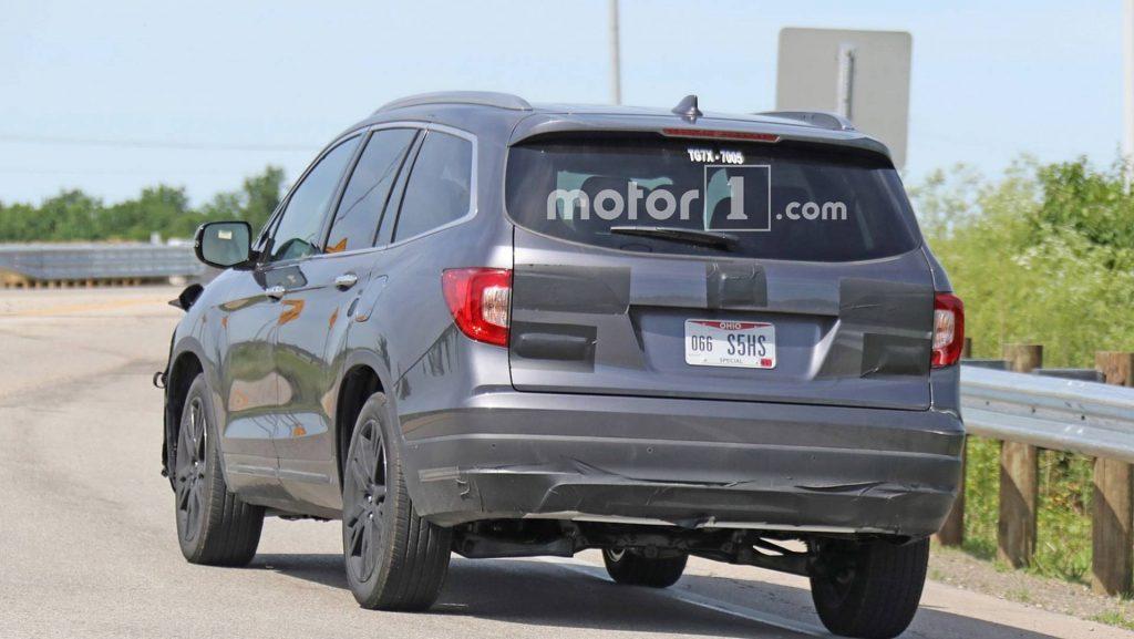 Honda Pilot после обновления получит гибридную версию 2
