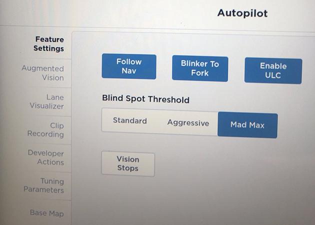 В грузовике Tesla Semi нашли режим «Безумный Макс» 1