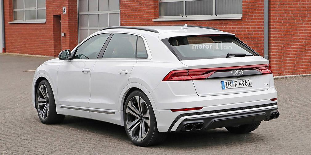 «Внешность» спортивного Audi Q8 раскрыли до премьеры 2