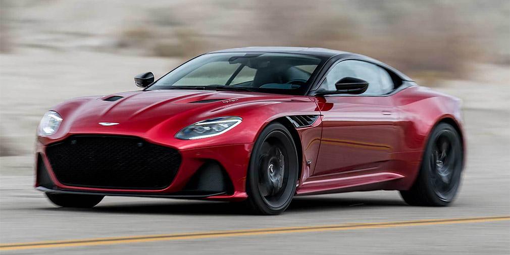 Новый Aston Martin рассекретили до премьеры 1