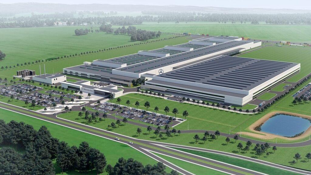 Строительство завода Mercedes-Benz в Польше вышло на финишную прямую 1